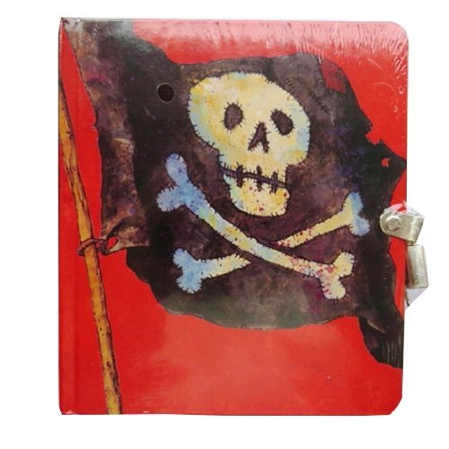 peaceble-kingdom-diario-con-lucchetto-e-chiave-tema-pirati