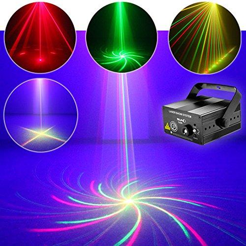 Best-electric New Remote Club Bar Rg Laser Blue LED Stage Lighting Professional Light(al09)