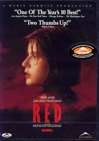 Three Colors: Red [DVD] [Import]