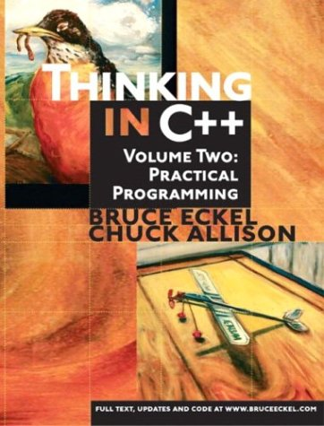 Thinking in C++ 2ND Edition Volume 1 No CD