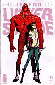 """Legend of Luther Strode #2 """"2nd Print Variant"""": image comics: Amazon"""
