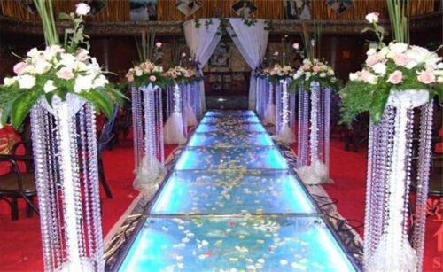CYNDIE Hot Sale New 10PCS14MM Acrylic Crystal Garland Strand Chain Hanging Diamond Bead Decoration