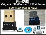 ReMe Bluetooth USBアダプター Ver.4.0+EDR/LE(省エネ設計)対応 Bluetoothアダプタ CSR4.0 Windows 10/8.1/8/7/XP対応 無線 通信 USB bluetoothレシーバーブルートゥ... ランキングお取り寄せ