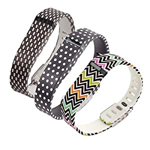 Generic Replacement Wrist Band for Fitbit Flex Large Pack of 3