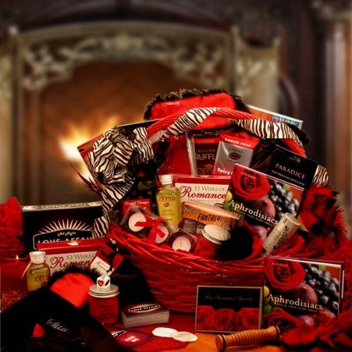 A Naughty Valentine's Day Gift Basket for Couples