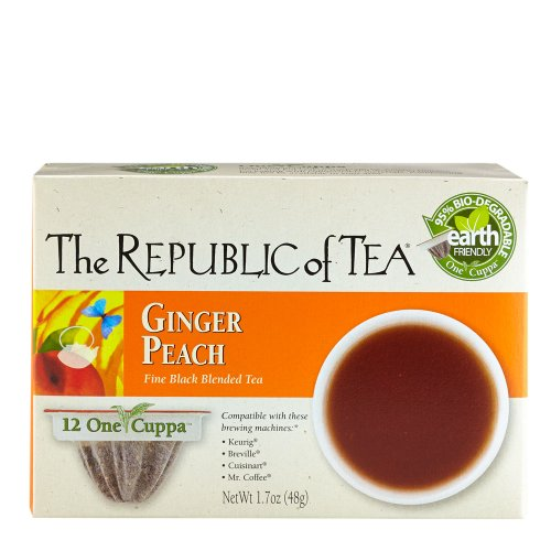 The Republic Of Tea Ginger Peach Black Tea Single