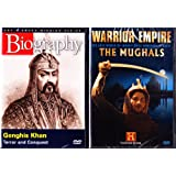 Genghis Khan Biography , The Mughals Warrior Empire : Great Armys The History Channel 2 Pack Collection