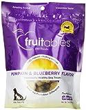 Fruitables Pumpkin & Blueberry Crunchy Dog Treats 1-7 ounce Pouch
