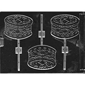 CAKE LOLLY Kids Candy Mold Chocolate