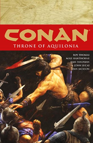 Conan Volume 12: Throne of Aquilonia (Conan 12)