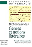 Dictionnaire Des Genres Et Notions Litteraires (French Edition) (2226122362) by Nourissier, Francois