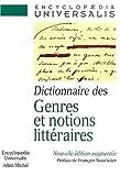 Dictionnaire Des Genres Et Notions Litteraires (French Edition) (2226122362) by Nourissier, Francois