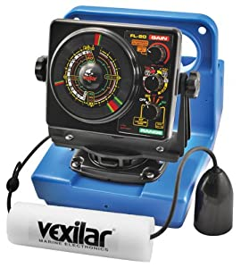 Vexilar GP2012 FL20 Genz Pack 12-Degree Ice-Ducer Combo by Vexilar