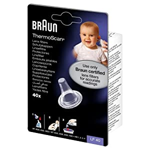 Braun Thermoscan Lens Filters x 40