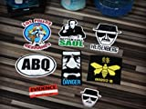 Ultimate Sticker Collection, Heisenberg, Los Pollos Hermanos, Better Call Saul, Breaking Bad