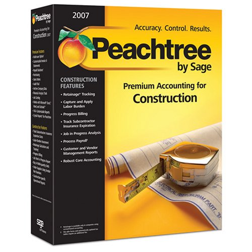 Peachtree Accounting Pro 2007 (1 cd)