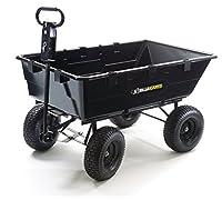Gorilla Carts GOR2541D Heavy-Duty Dump C...