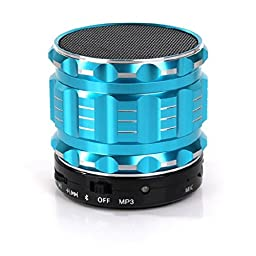 LOLERS Portable Bluetooth Handsfree Wireless Stereo Subwoofer Cannon Bluetooth Speaker