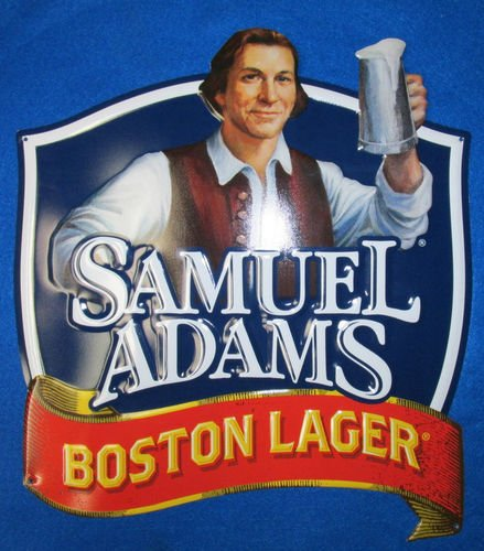 Samuel Adams Raise the Stein Pub Sign boston