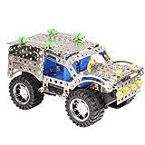 Wishtime SUV自動車 3D金属パズル 科学 実験 キット ブースト慣性搭載 組立て300pcsセット 6歳から 幼児 子ども キッズ おもちゃ 知育【お誕生日プレゼント】 ランキングお取り寄せ