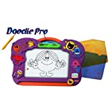 FISHER PRICE MR.MEN LITTLE MISS DOODLE PRO MAGNETIC DRAWING FUN