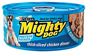 Mighty Dog Prime Cuts Chicken Dinner in Gravy, 5.5-Ounce Cans (Pack of 24) at Sears.com