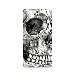 Mobicture Skull Abstract Premium Printed Case For Sony Xperia C5