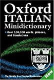 img - for Oxford Italian Minidictionary book / textbook / text book