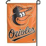 "Baltimore Orioles 11""x15"" Garden Flag - Gooney Bird Orange with Text"
