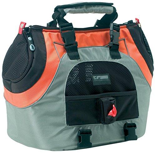 Petego Universal Sport Bag Plus Pet Carrier, Orange/Silver front-396412