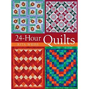 24-Hour Baby Quilts & how to quilt books.