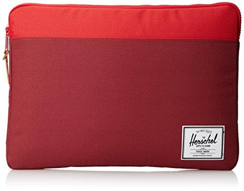 "Herschel Anchor Sleeve 15"" Macbook Pro Burgundy Red"