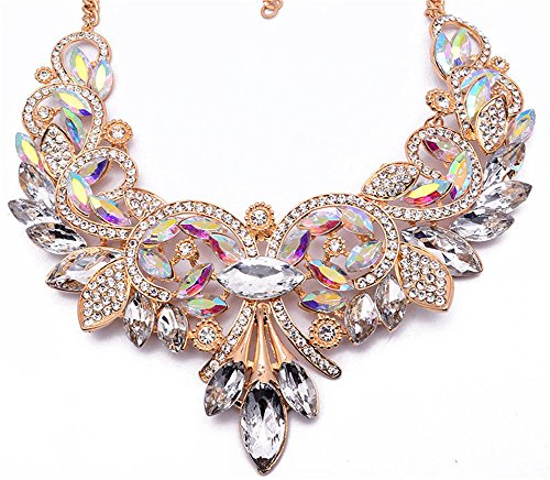 Girl Era Womens Colorful Rhinestone Crystal Queen