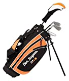 Ben Sayers Kids M1i - (Black/Orange, Regular, Package set, Graphite, Right Hand) - Age 9-11
