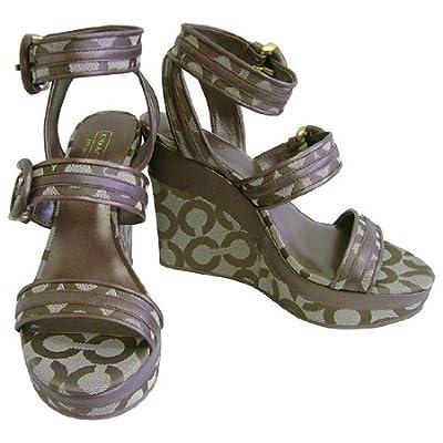 坡跟女士凉鞋