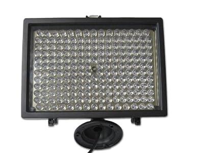 CMVision-IR200 - 198 IR LED Night Indoor/Outdoor Long Range 400-500ft IR Illuminator w/ FREE 12V Power Adapter from CMVision