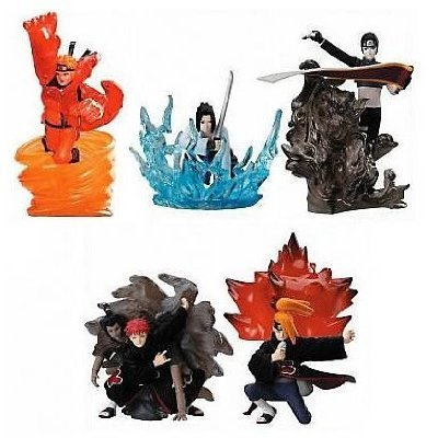 Naruto Shippuden Ninjutsu Series 2 Action Figure Set
