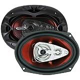 "BOSS AUDIO CH6940  Chaos Exxtreme 6"" x 9"" 4-way 500-watt  Full Range Speakers"