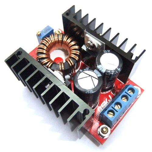 DROK® 120W 12V/24V/48V 10-32V to 35-60V DC Converter Voltage Regulator Boost Charger Car Power Supply DIY
