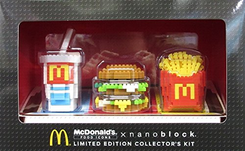 RoomClip商品情報 - 【マクドナルド限定】 ビッグマック ナノブロックセット(3個入り) コンプリートBOX