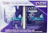 Crest 3d White Whitestrips 1 Hour Express Teeth Whitening 4 Treatments Twin Pack Bogo Kit