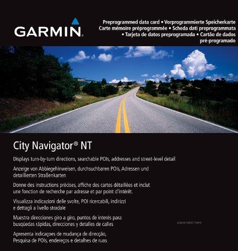 Garmin City Navigator for Detailed Maps of Major Metropolitan Areas in Europe (microSD/SD Card)