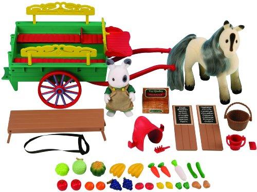 Imagen principal de Sylvanian Families 2785 - Carruaje y accesorios para poni (incluido) [Importado de Alemania]