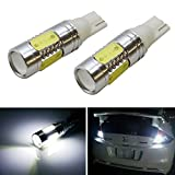 iJDMTOY Extremely Bright 7.5W High Power 912 921 LED Reverse Light Bulbs, Xenon White