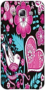 Snoogg Seamless Texture With Flowers Designer Protective Back Case Cover Fors...