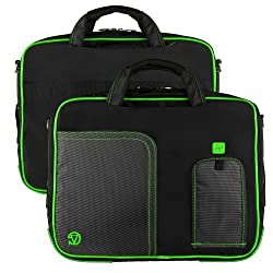 Vg Inc Tablet Messenger Bag (Green)