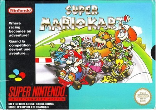 Super Mario Kart for SNES