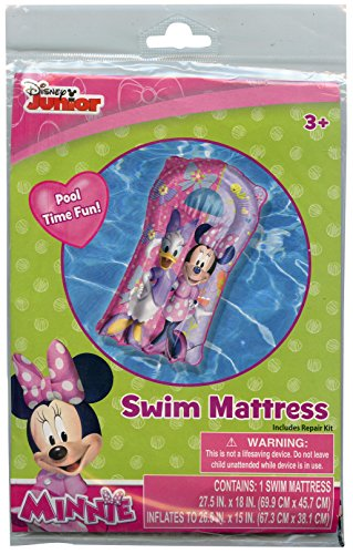 Disney Junior Minnie Mouse and Daisy Duck Pool Swim Mattress