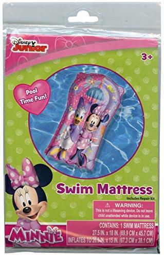 Disney Junior Minnie Mouse and Daisy Duck Pool Swim Mattress - 1