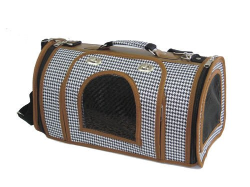 Medium Pet Carrier Dog Cat Bag Tote Purse Handbag 2WM